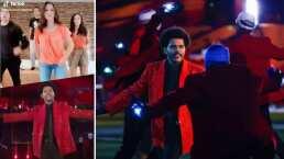 The Weeknd puso a bailar a los Derbez y fue al ritmo de 'Blinding Lights'