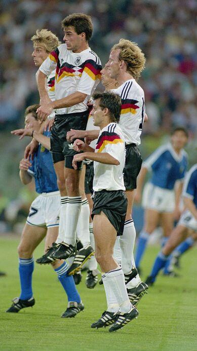 W GERMANY V ARGENTINA WALL
