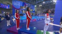Alejandra Orozco hace clavado que vale medalla