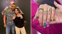Ángela Aguilar se pinta las uñas de 'Colores' al estilo de J Balvin