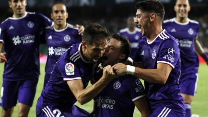 Valladolid aprovechó la superioridad numérica y sacó tres puntos en una de las últimas jugadas para superar a Betis en su propia casa.