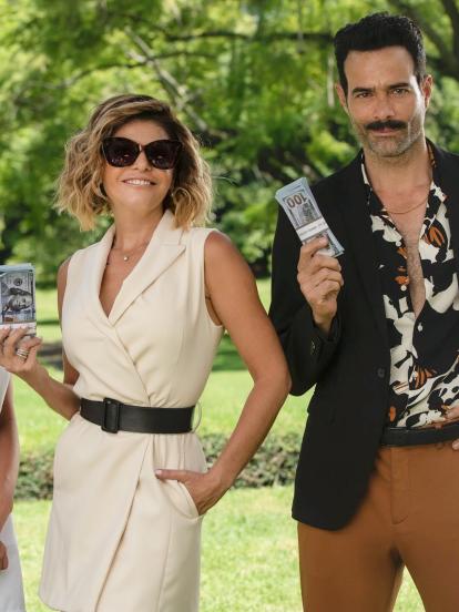 """Itatí Cantoral da vida a """"Andrea Ibarrola"""" en """"La Mexicana y el Güero"""", telenovela que llegará a Las Estrellas este 17 de agosto a las 8:30 pm."""