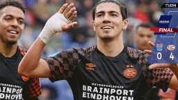 Regresa Erick Gutiérrez con gol en triunfo del PSV