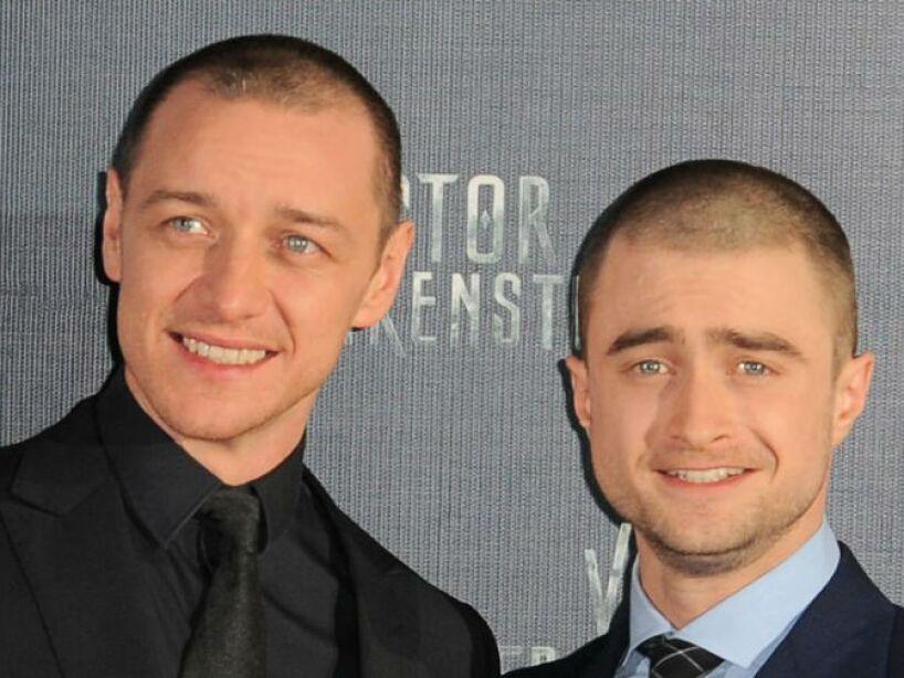 James McAvoy y Daniel Radcliffe se convirtieron en grandes amigos a partir de Victor Frankenstein.
