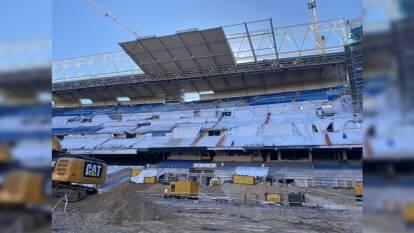 Así van las obras de remodelación del Bernabéu   El mítico estado del Real Madrid se está renovando y estas son las últimas imágenes del proceso.