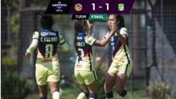 Resumen | ¡Duelazo en Coapa! América empata 1-1 con León