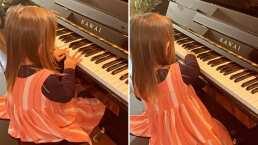 Se te derretirá el corazón cuando veas a Kailani cantar y tocar el piano