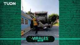 De la basura a la lucha libre: recolectores sorprenden con 'función'
