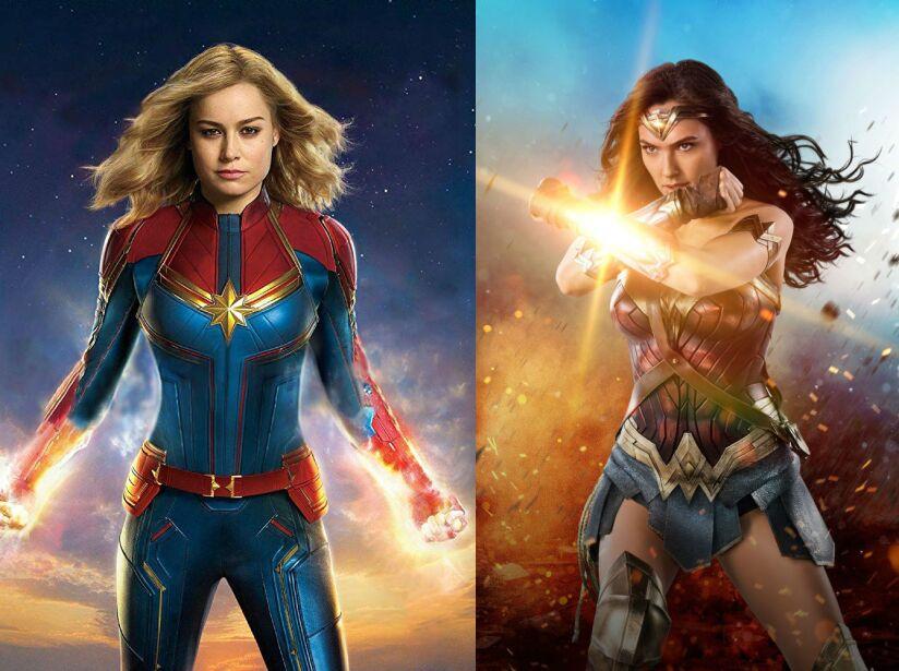 Dos grandes heroínas de los cómics y el cine