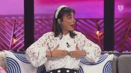 Natalia Téllez recordó el incidente que tuvo con un brasier, cuando participó en un video musical de Benny Ibarra