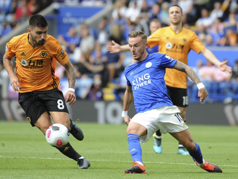 Leicester City vs Wolverhampton, Premier League
