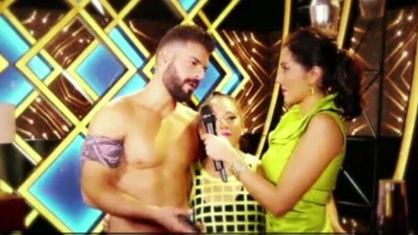 Adrián Di Monte feliz con el cumplido de Flavio