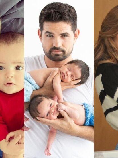 Los hijos de famosos como Odalys Ramírez, Ferdinando Valencia y Erika Zaba fueron algunos bebés que deslumbraron este 2019.