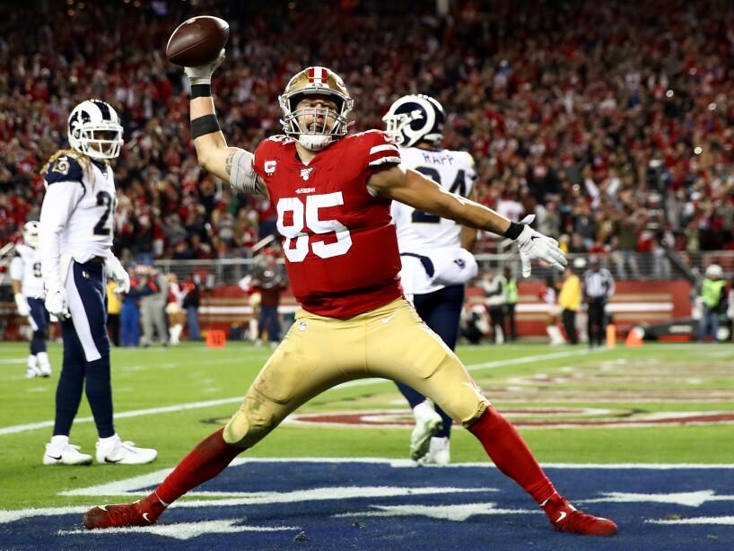 Los Angeles Rams vSan Francisco 49ers