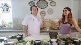 Galilea Montijo es consentida por el chef que preparó el banquete el día de su boda