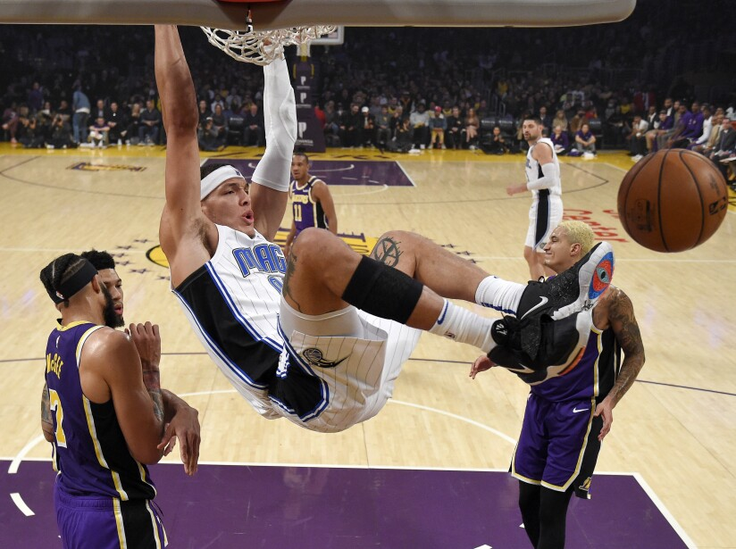 Los Angeles Lakers 115-119 Orlando Magic