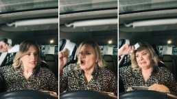 '¡No lo traigo!': A Erika Buenfil se le pierde el boleto de estacionamiento sin darse cuenta que lo trae en la mano