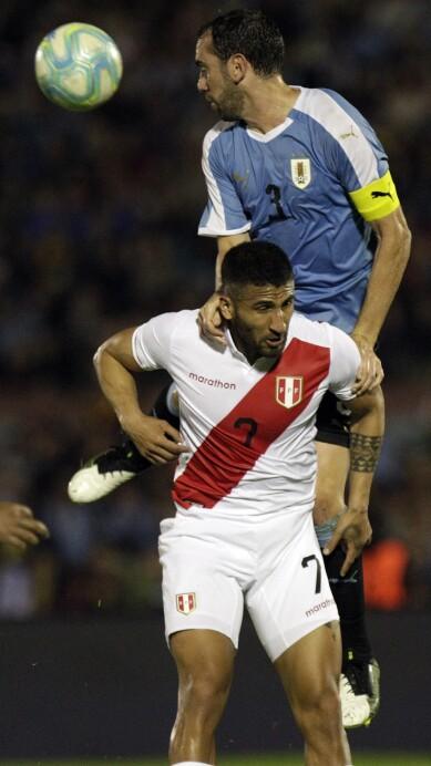 Uruguay Peru Friendly Soccer
