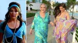 Ana Bárbara y su mamá se avientan pasarela al estilo de María de Todos los Ángeles: 'Simplemente Cosmopolita'