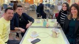 Héctor Moreno y Xavi se reúnen en Qatar