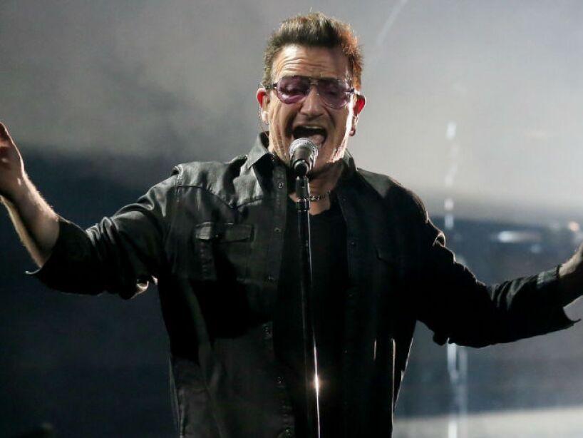 5. Paul David Hewson: ¿No te suena? Es el nombre real de Bono, el vocalista de la banda irlandesa de U2.