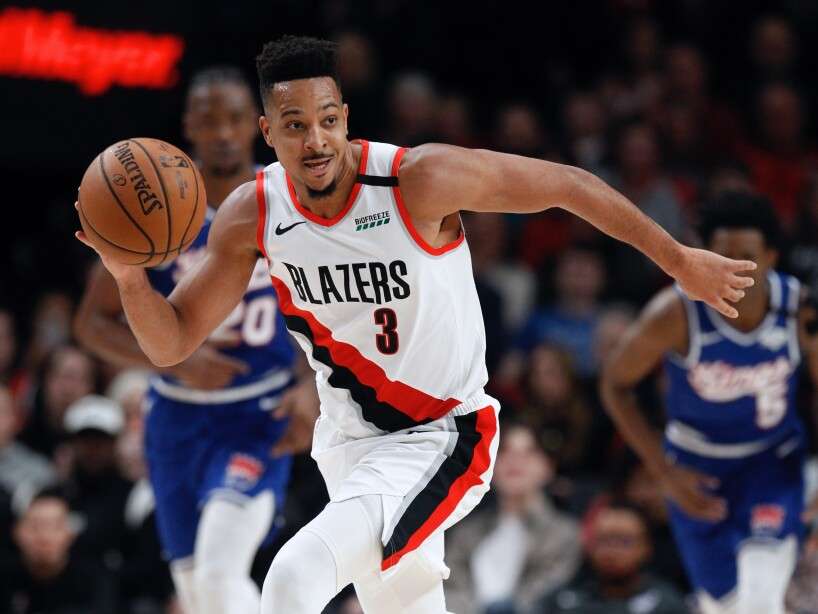 Kings Trail Blazers Basketball
