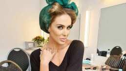 Jacky Bracamontes demuestra qué tanto sabe de maquillaje con su amigo, el estilista Jomari Goyso