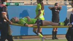 Momentos de tensión en Coapa por la lesión de Alexandra Aguilar