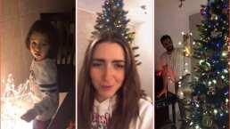 Ariadne Díaz y su hijo muestran su enorme árbol de Navidad: de las esferas de Disney al Santa Claus