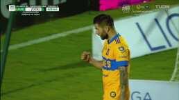 ¡Gol en su partido 200! Gignac marca de penal el 2-0 para Tigres