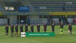 ¡Pura pasión! Así se entonó el himno de México ante Eslovaquia