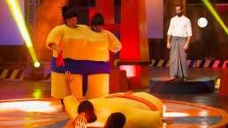 """Capítulo 30 Inseparables: Wendy y Paco lastimaron a otros en las peleas de sumo y al final vimos a El Travieso """"dar a luz"""""""