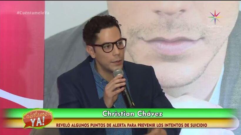 ¡Christian Chávez, ex RBD, recuerda su intento de suicidio!