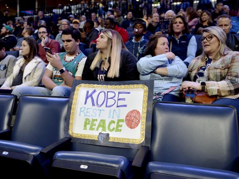 Suns Grizzlies Obit Bryant Basketball