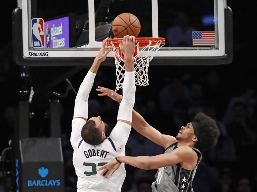 Brooklyn Nets 107-118 Utah Jazz