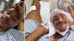 Jesse, de Jesse & Joy, sufre aparatoso accidente que terminó con cirugía en el hospital