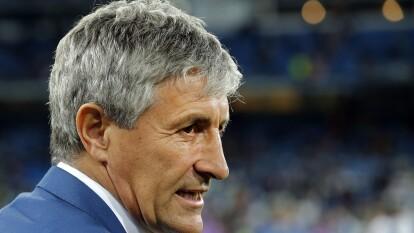 El Barcelona anuncia a Quique Setién como entrenador, hasta el 2022; releva a Ernesto Valverde.