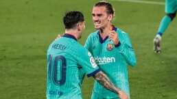 Griezmann quiere que Messi se quede en el Barça