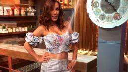 Consuelo Duval confiesa su secreto para mantener su cuerpo