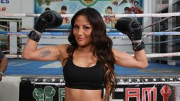 """ENTREVISTA: La Campeona de box Mariana """"La Barbie"""" Juárez, actúa en El dicho"""