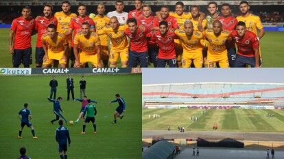 Veracruz se suma a otros equipos alrededor del mundo que han protestado por diferentes razones durante el partido.