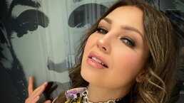 Thalía y su 'experiencia tan extraña' al visitar un centro comercial tras estar meses en cuarentena