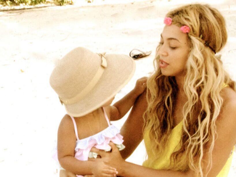 11. Beyoncé: La cantante y el rapero Jay Z son los orgullosos padres de Blue Ivy Carter, ¿habrá heredado su talento?