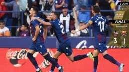 Levante con la increíble remontada sobre el Barcelona