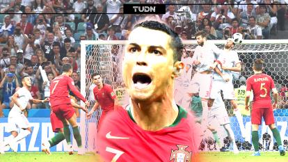 Cristiano Ronaldo dejó atrás su cariño por España y su futbol cuando marcó una pincelada en el Mundial de Rusia 2018 con la Selección de Portugal.