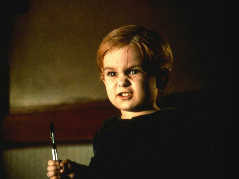 1. Gage: El niño de Cementerio de Mascotas, el cual es atropellado por un camión y vuelve para cobrar venganza.