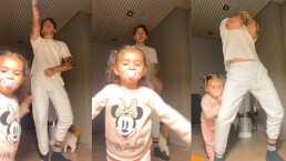 Kima enternece las redes al interrumpir a JD Pantoja mientras bailaba
