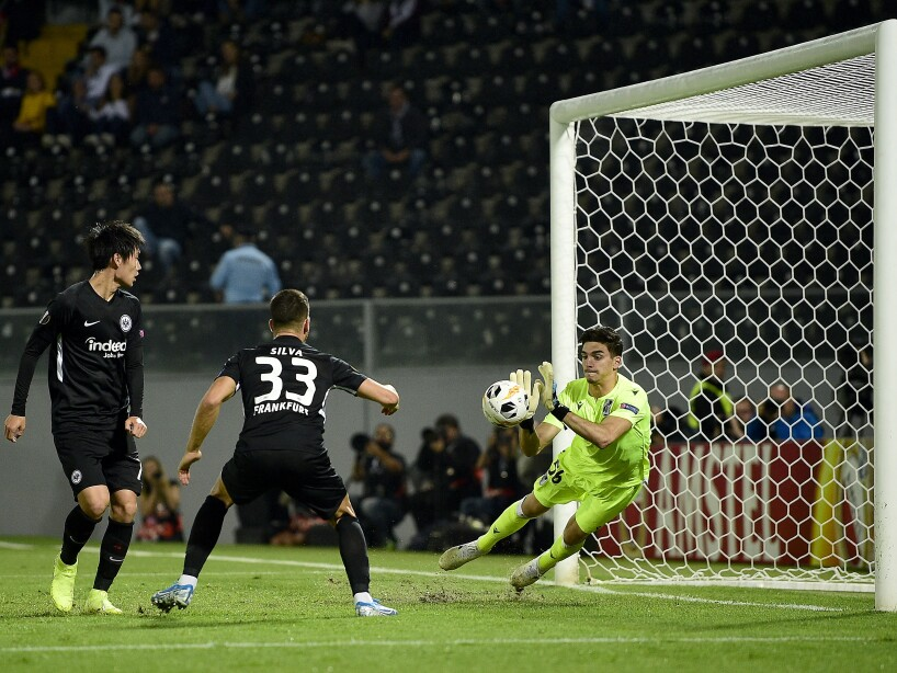 Vitoria Guimaraes v Eintracht Frankfurt: Group F - UEFA Europa League