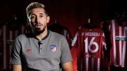 Héctor Herrera vive y comparte la sensación de jugar Champions
