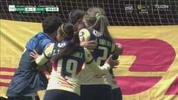 ¡Golazo de Daniela Espinosa! Anota el 0-1 con un tiro libre